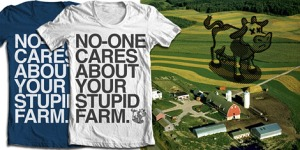 No one cares about your farm