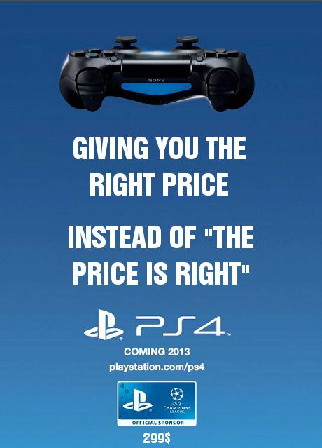 Sony ps4 ad