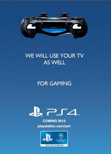 PS 4 Gaming Ad