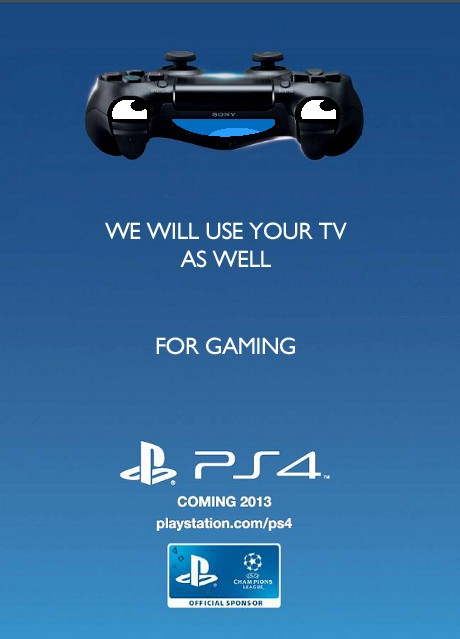 PS 4 Gaming Ad