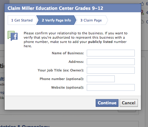 Fixing Duplicate Pages in Facebook
