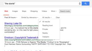 Refining Google results