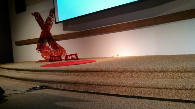 TEDxUofW Stage