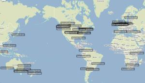 Top tweets around the world