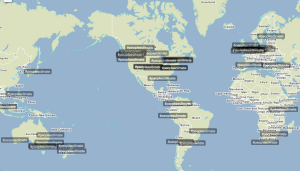 Top tweets around the world
